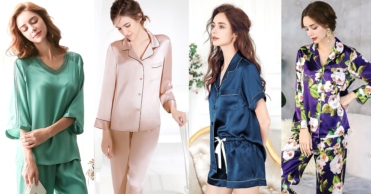 Best Silk Pajama Set Womens