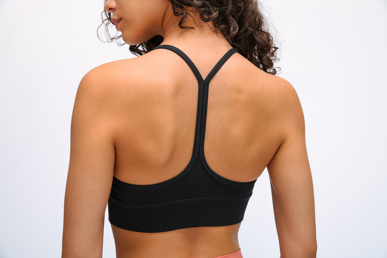 Women's fashion sports bras black